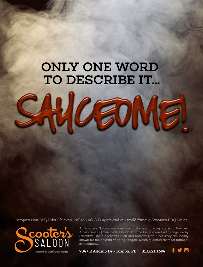 """Scooter's Saloon: """"Sauceome Campaign"""""""