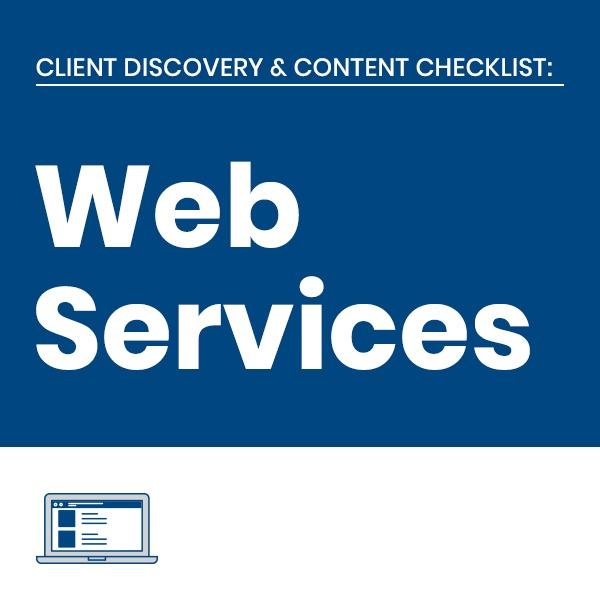 C3 Web Services Client Checklists