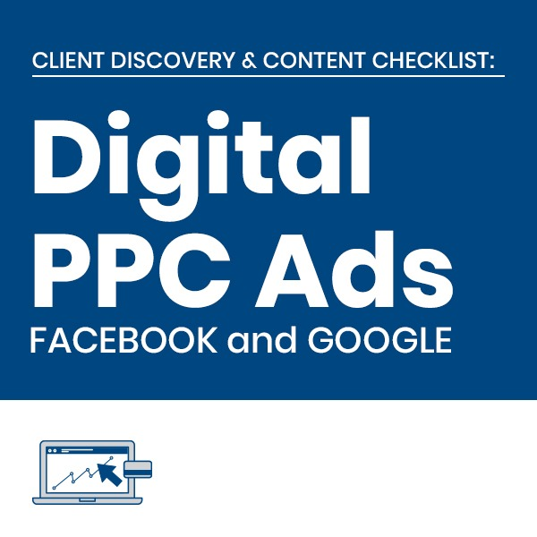 C3 Digital PPC Advertising Services Client Checklists