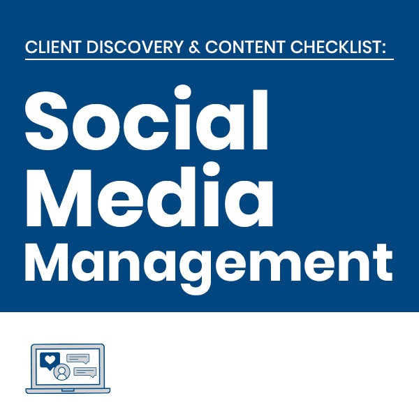 C3 Social Media Services Client Checklists