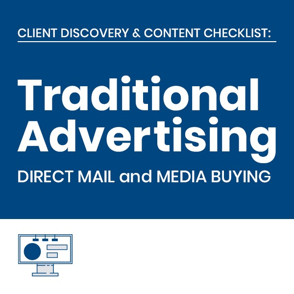 C3 Traditional Marketing Services Client Checklists