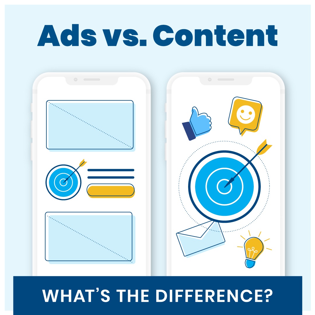 Content Marketing vs. Advertising – What's the Difference?